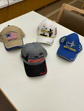 Lot of 4 Men's Military Related Caps