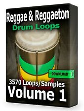 Reggae and Reggaeton Drum Loops WAV Samples Pro Tools FL Studio Ableton Cubase