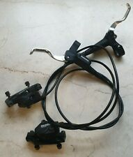 Shimano Deore BR-M525 Front & Rear Disc brakes set calipers, levers, black hoses