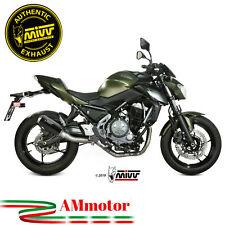 Scarico Completo Mivv Kawasaki Z 650 2019 19 Terminale MK3 Carbonio Per Moto