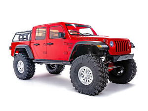 SCX10 III Jeep JT Gladiator 4wd RTR Red - C-AXI03006T2