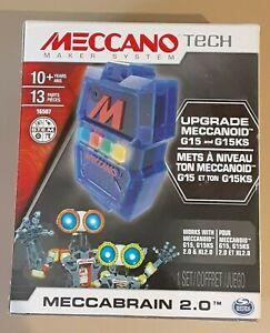 Meccano Tech Meccanoid Personal Robot Meccabrain 2.0 Upgrade G15 G15KS XL
