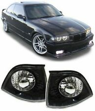 BLACK BACKGROUND INDICATORS FOR BMW E36 3 SERIES COUPE CONVERTIBLE CABRIOLET T2