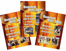 Save on Set of 3 Basketball Skills Dvds for Amateur Coaches