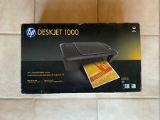 HP Deskjet 1000 Printer J110a Series New in Box