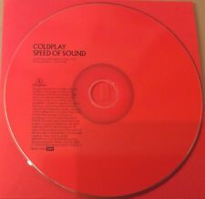Coldplay Speed Of Sound Promo CD