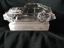 Goebel Crystal MGB GT 1965 Car/Paperweight - MINT