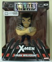 BRAND NEW Logan Wolverine X-Men Metals Die Cast Figure Loot Crate Exclusive