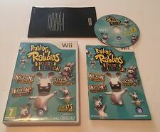 Raving Rabbids Party Collection Nintendo Wii PAL Complete