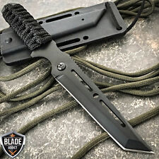 """8"""" TACTICAL MILITARY COMBAT TANTO FIXED BLADE NECK KNIFE DAGGER BOOT POCKET EDC"""