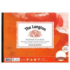 Daler Rowney Langton Watercolour Pad - HP - Smooth Hot Pressed - 10x7