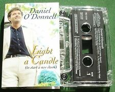 Daniel O'Donnell Light a Candle to Start a New Dawn Cassette Tape Single TESTED