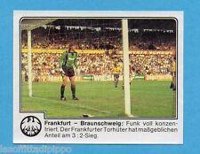 GERMANIA FUSSBALL 80-PANINI-Figurina n.123- EINTRACHT FRANKFURT -Rec