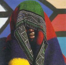 Afrika: Klappkarte: Ndebele-Frau mit Schmuck