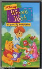 WINNIE THE POOH il Giorno del non-Valentino Disney VS4774 1999 come nuova VHS036