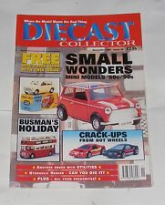 DIECAST COLLECTOR NOVEMBER 1999 - SMALL WONDERS MINI MODELS '60S - '90S