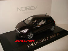 NOREV PEUGEOT 208 XY PURPLE NIGHT 2012 au 1/43°