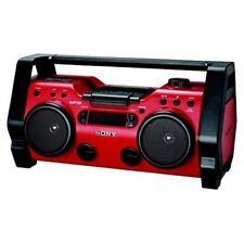 Sony ZS-H10CP CD/Headphone Jack/CD-RW Playback/MP3 CD Playback/Radio/CD-R Playback Boombox