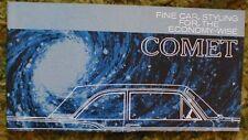 1960 Mercury Comet Sales Brochure 60