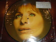 """BARBRA STREISAND PICTURE DISC 12"""" RARE DJ ONLY COPY NEW"""