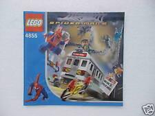 LEGO® Eisenbahn Bauplan für U-Bahnwaggon 4855 - NEU