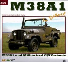 M38A1 Jeeps in Detail No 73 by Frantisek Koran. Willys jeep WW2 army book