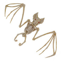 Halloween Bat Skeleton Animal  Bone Posable Party Props Haunted House Decor