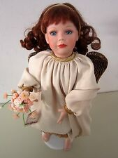 "HOPE ""Garden of Innocence"" Angel Porcelain Doll Ashton-Drake Galleries 1996"