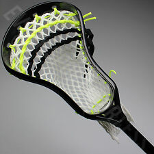 NEW Maverik Lacrosse Charger Complete Lax Stick - Black Head / Black Shaft