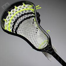 NEW Maverik Lacrosse Charger Complete Lax Stick - Black Head / Black Shaft