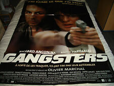 AFFICHE   MARCHAL / ANCONINA / PARILLAUD / GANGSTERS