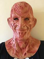 Burnt homme horreur halloween masque déguisement film costume latex cauchemar masques