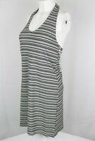 American Eagle Women's Striped Halter Dress Size Medium 4155-900