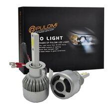 H1 72W 7200lm 2 Sides COB LED Headlight Kits Low Beam 6000K Bulbs White Lamp 12V