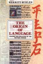 The Origin of Language: Tracing the Evolution of the Mother Tongue-ExLibrary