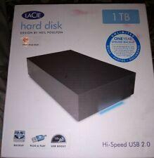LaCie Hard Disk 1TB USB 2.0 External Hard Drive designed by Neil Poulton