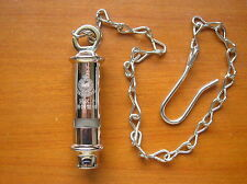 China Hong Kong Police Metal Whistle and Metal Chain Lanyards,Set.