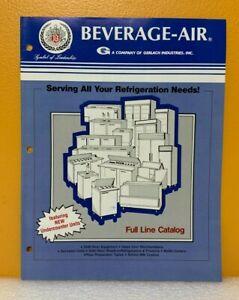 Beverage-Air Full Line Catalog.