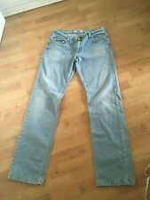 moschino mens pale blue jeans w36 l34