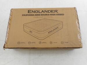 Englander X07STVX1Y8 - Microfiber California King Air Mattress, Black