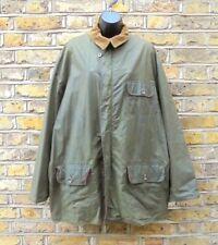 RALPH LAUREN Men's Country Green Waxed Coat Shooting Hunting Jacket Coat Size XL
