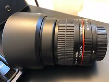 Rokinon 85M-S 85mm F1.4 Aspherical Lens for Sony a-mount DSLR (Black)