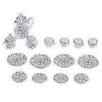 1/12 Miniatur Geschirr 15 Stk Porzellan Teeservice Set Für Puppenhaus Küche