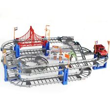 Rail Track & One Toy Car Town Starter Playset for Kids & Children Best Gifts New