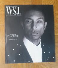 WSJ MAGAZINE SEPTEMBER 2014 MEN'S FASHION PHARRELL WILLIAMS COVER maxwell snow
