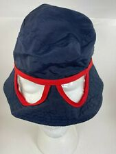 So'Dorable Toddler Sunhat Hat, Wide Brim with built in glasses - Navy