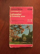 Leicester & Coventry Area Ordnance Survey Landranger Map Sheet 140