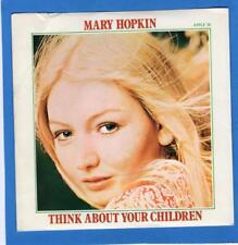 Mary Hopkin UK Apple 30 Think About Your Children / Heritage with Picture Cover