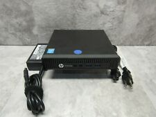 HP EliteDesk 800 G1 DM Mini PC Computer - Intel i5-4590T 2GHz 8GB RAM + Adapter