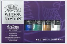 Winsor & Newton Artisan Water Mixable Oil Colour Beginners Set. New Unused.